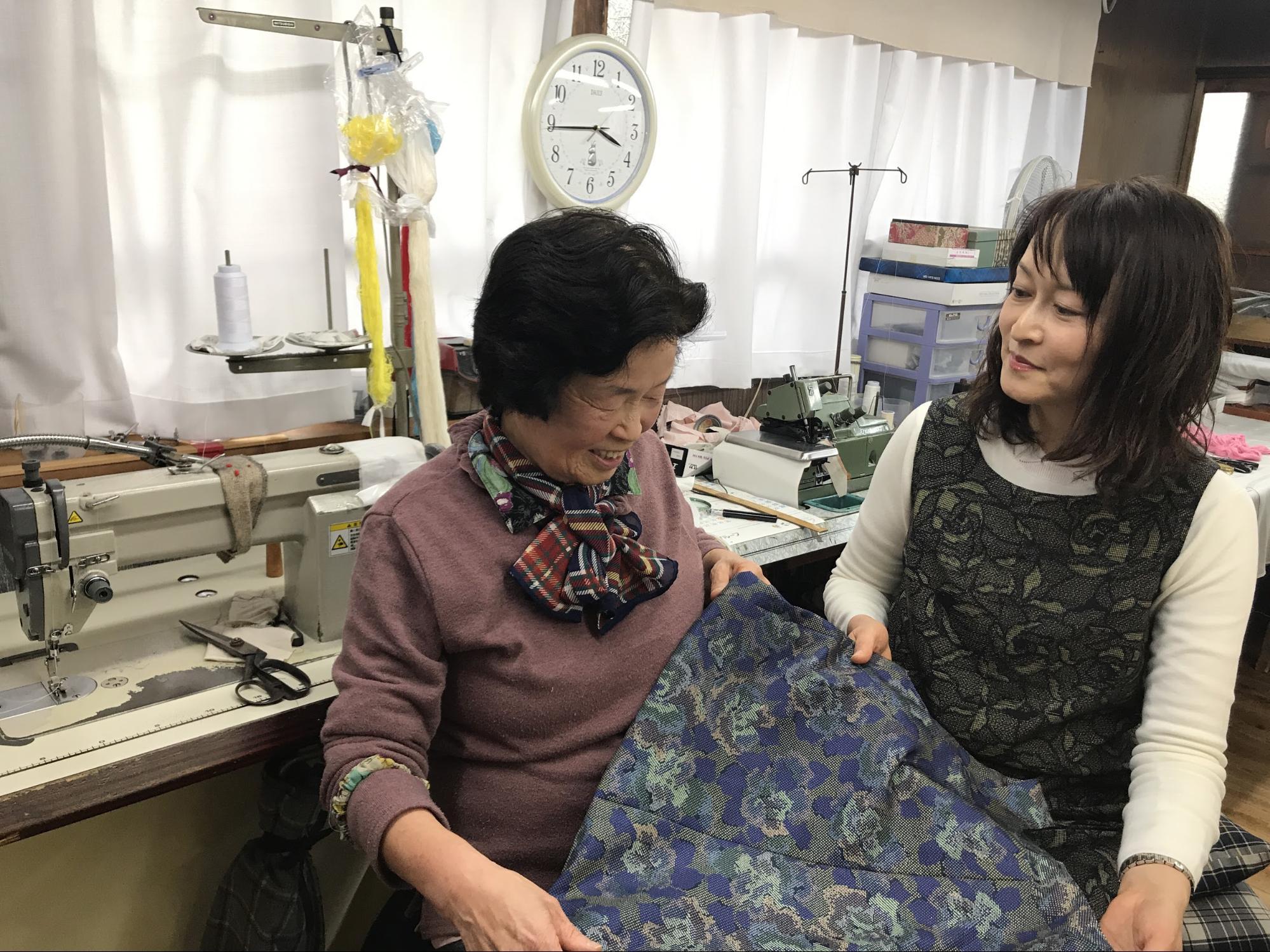 「元縫製職人・79歳の母の新しい生きがい 」 氷川好美さん 【お客さまインタビューVol.4】